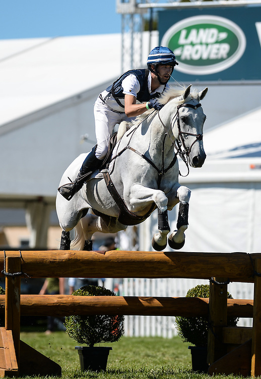 Clarke Johnstone rides Balmoral Sensation to win the CIC3* Eventing, Horse of the Year 2016, Hastings Show Grounds, Hastings, Hawkes Bay, Saturday, March 05, 2016. Credit: SNPA / Sarah Lord
