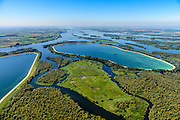 Nederland, Noord-Brabant, Werkendam, 23-08-2016; Nationale Park De Biesbosch, Honderd en Dertig. Spaarbekken voor de productie van drinkwater.<br /> Reservoir for the production of drinking water.<br /> aerial photo (additional fee required);<br /> copyright foto/photo Siebe Swart