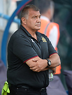Shaun Wane Head Coach of Wigan Warriors before the Betfred Super League match at the John Smiths Stadium, Huddersfield<br /> Picture by Richard Land/Focus Images Ltd +44 7713 507003<br /> 12/07/2018