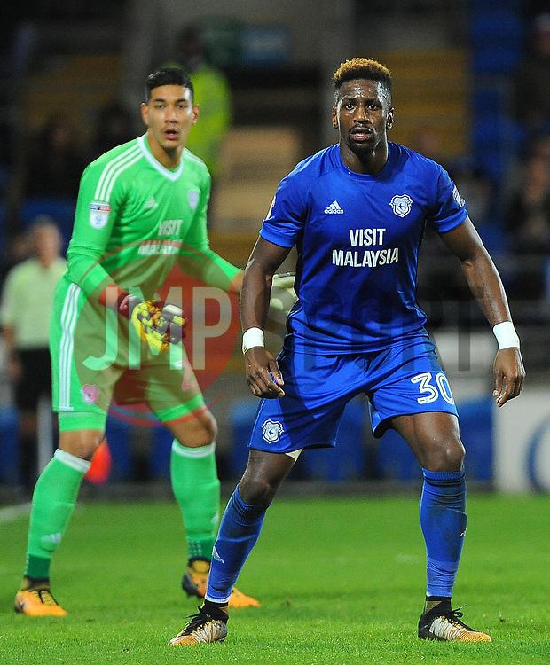 Omar Bogle of Cardiff City- Mandatory by-line: Nizaam Jones/JMP - 31/10/2017 -  FOOTBALL - Cardiff City Stadium- Cardiff, Wales -  Cardiff City v Ipswich  Town- Sky Bet Championship