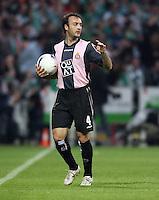 Fussball  UEFA Pokal  Halbfinale  Rueckspiel  Saison 2006/2007 Werder Bremen - Espanyol Barcelona              Jesus Maria LACRUZ (Barcelona)