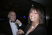 Marcia and Lawrence Myers, Laurence Olivier Awards 2007. Grosvenor House Hotel. London. 8 February 2007.  -DO NOT ARCHIVE-© Copyright Photograph by Dafydd Jones. 248 Clapham Rd. London SW9 0PZ. Tel 0207 820 0771. www.dafjones.com.