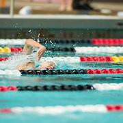15 October 2015 - The San Diego State Aztecs Women's Swim & Dive Team took on Oregon State and Vanderbilt at the Aztec Aquaplex. 1000 yard Freestyle Lane 7