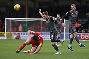 Lee Frecklington of Lincoln City in action during the EFL Sky Bet League 2 match between Swindon Town and Lincoln City at the County Ground, Swindon, England on 12 January 2019.
