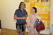 JAMIE ROBINSON; KELLY GARRETT, Albert Irvin: Painting the Human Spirit - private view<br /> Exhibition dedicated to the memory of Albert Irvin who passed away in March 2015. Private view held on anniversary of Irvin's birthday .Gimpel Fils Gallery, 30 Davies Street, London, 21 August 2015.