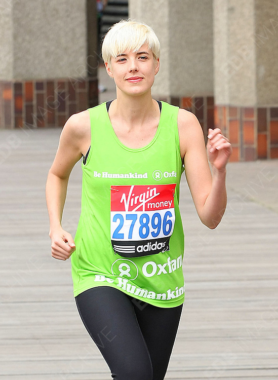 15.APRIL.2011. LONDON<br /> <br /> AGYNESS DEYN AT THE LONDON MARATHON 2011 PHOTOCALL HELD AT TOWER HILL IN LONDON<br /> <br /> BYLINE: EDBIMAGEARCHIVE.COM<br /> <br /> *THIS IMAGE IS STRICTLY FOR UK NEWSPAPERS AND MAGAZINES ONLY*<br /> *FOR WORLD WIDE SALES AND WEB USE PLEASE CONTACT EDBIMAGEARCHIVE - 0208 954 5968*