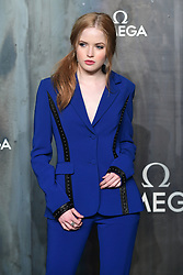 Ellie Bamber attending the Lost in Space event to celebrate the 60th anniversary of the OMEGA Speedmaster held in the Turbine Hall, Tate Modern, 25 Sumner Street, Bankside, London. PRESS ASSOCIATION Photo. Picture date: Wednesday 26 April  2017. Photo credit should read: Ian West/PA Wire