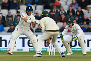 Rory Burns of England batting during the International Test Match 2019, fourth test, day two match between England and Australia at Old Trafford, Manchester, England on 5 September 2019.