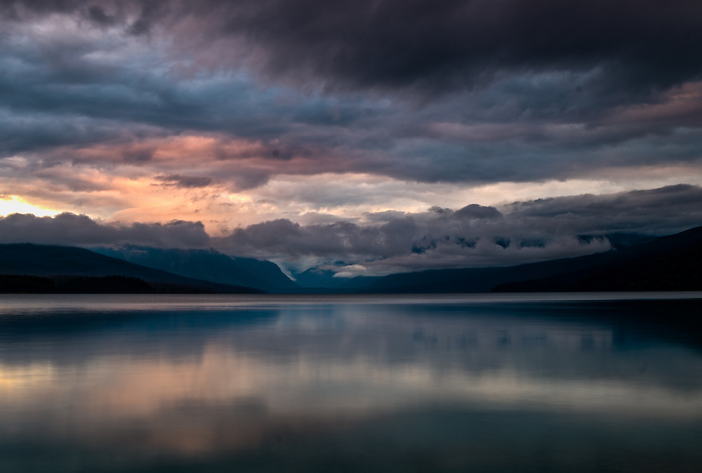 Sunrise at Lake McDonald | Glacier National Park | August 16, 2014