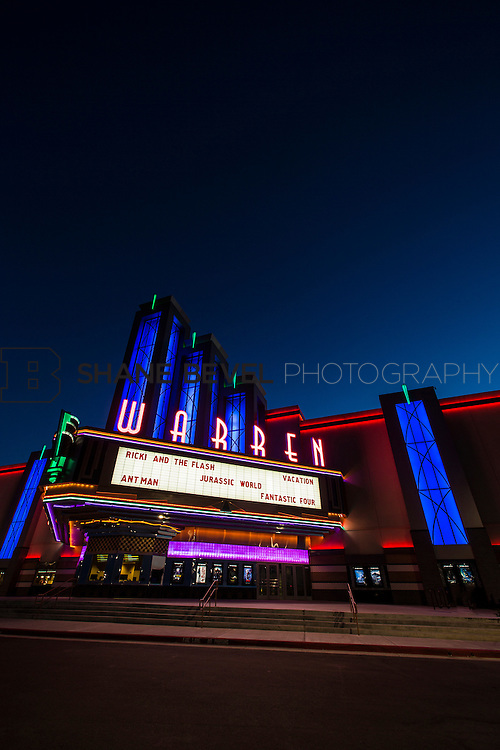 8/10/15 8:41:11 PM --  Exterior photos of the Warren Theatre in Broken Arrow, Oklahoma. <br /> <br /> Photo by Shane Bevel