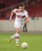 FUSSBALL   EUROPA LEAGUE   SAISON 2012/2013   20.09.2012 VfB Stuttgart - FC Steaua Bukarest William Kvist (VfB Stuttgart) am Ball