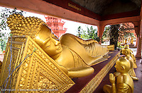 My personal favorite- Golden Reclining Buddha, Wat Kraom Temple, Sihanoukville, Cambodia