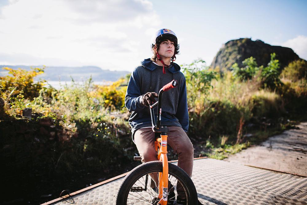 Kriss Kyle, Scottish Pro Bmx rider.