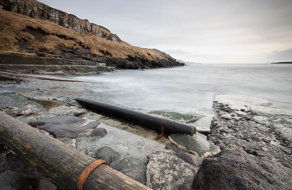 Boat ramp in The old Hoyvik