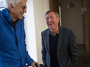 DANIEL MEADOWS; IAN MACDONALD, Opening of the Martin Parr Foundation party,  Martin Parr Foundation, 316 Paintworks, Bristol, BS4 3 EH  20 October 2017