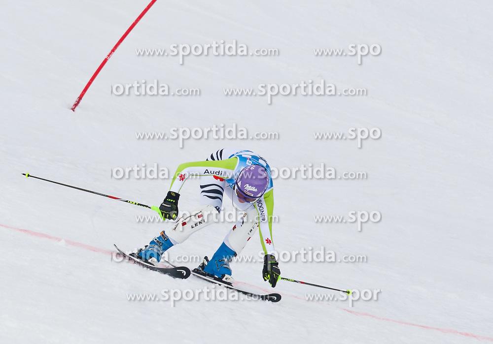 18.03.2011, Pista Silvano Beltrametti, Lenzerheide, SUI, FIS Ski Worldcup, Finale, Lenzerheide, Slalom Damen, im Bild Maria Riesch (GER). während dem 1. Durchgang im Zielraum auf der Lenzerheide. //  Maria Riesch (GER) during Women´s Slalom, at Pista Silvano Beltrametti, in Lenzerheide, Switzerland, 18/03/2011, EXPA Pictures © 2011, PhotoCredit: EXPA/ J. Feichter