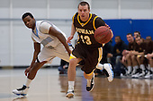 Rowan Men's Basketball at Stockton College - 19 January 2011