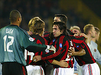 Fotball, 4. november 2003, Champions League,, Club Brugge ( Brügge )-Milan 0-1, Andrea Pirlo, Milan