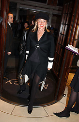 AMANDA ELIASCH at a party to celebrate the publication of 'Last Voyage of The Valentina' by Santa Montefiore at Asprey, 169 New Bond Street, London W1 on 12th April 2005.<br />