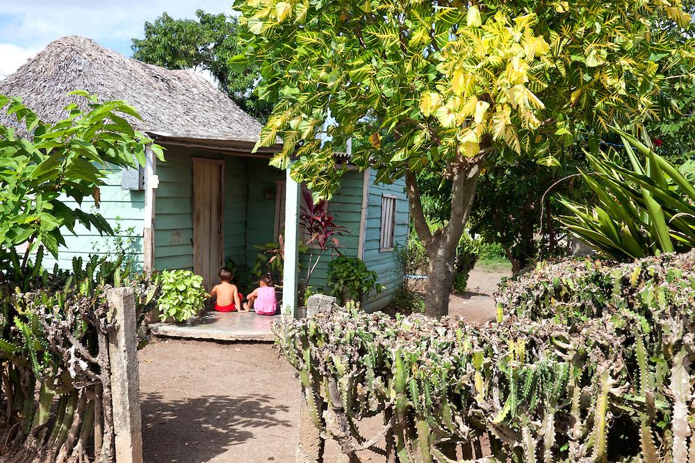 House in Vista Alegre near Unas, Holguin, Cuba.   Robin Thom Photography