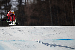 21-02-2018 KOR: Olympic Games day 12, PyeongChang<br /> Ladies Downhill at Jeongseon Alpine Centre / Silver medal for Ragnhild Mowinckel, of Norway, in action