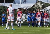 FotballFørstedivisjonTromsø IL vs Ranheim04.05.2014Vegard Voll, RanheimZdenek Ondrasek, TromsøMagnus Andersen, TromsøFoto: Tom Benjaminsen / Digitalsport