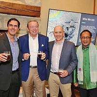 Jose Urtegag, August Busch III, Adam Hanson, Tuy Sereivathana