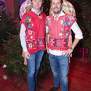 NLD/Hilversum /20131210 - Sky Radio Christmas Tree For Charity 2013, Frits Sissing en Tim Immers