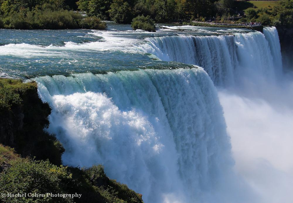 &quot;Niagara Falls&quot;<br /> <br /> Niagara Falls USA.<br /> <br /> Waterfalls by Rachel Cohen