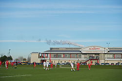 KIRKBY, ENGLAND - Tuesday, November 16, 2010: Liverpool Reserves take on Blackpool during the FA Premiership Reserves League (Northern Division) match at the Kirkby Academy. (Pic by: David Rawcliffe/Propaganda)