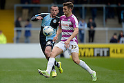 James Pearson of Barnet FC during the Sky Bet League 2 match between Wycombe Wanderers and Barnet at Adams Park, High Wycombe, England on 16 April 2016. Photo by Dennis Goodwin.