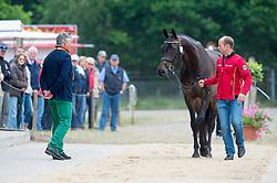 Jung Michael, (GER), Fischer Rocana FST<br /> CCI 4* Luhmühlen 2015<br /> © Hippo Foto - Jon Stroud<br /> 17/06/15