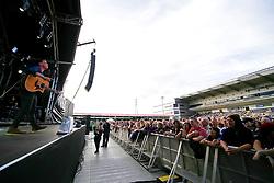 The Dunwells perform at Sixways Stadium - Mandatory by-line: Matt McNulty/JMP - 13/07/2017 - Sixways Stadium - Worcester, England
