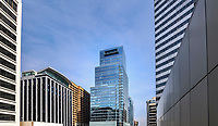Architectural image of Central Place Office Building in Rosslyn Virginia by Jeffrey Sauers of Commercial Photographics, DC Architectural Photographer