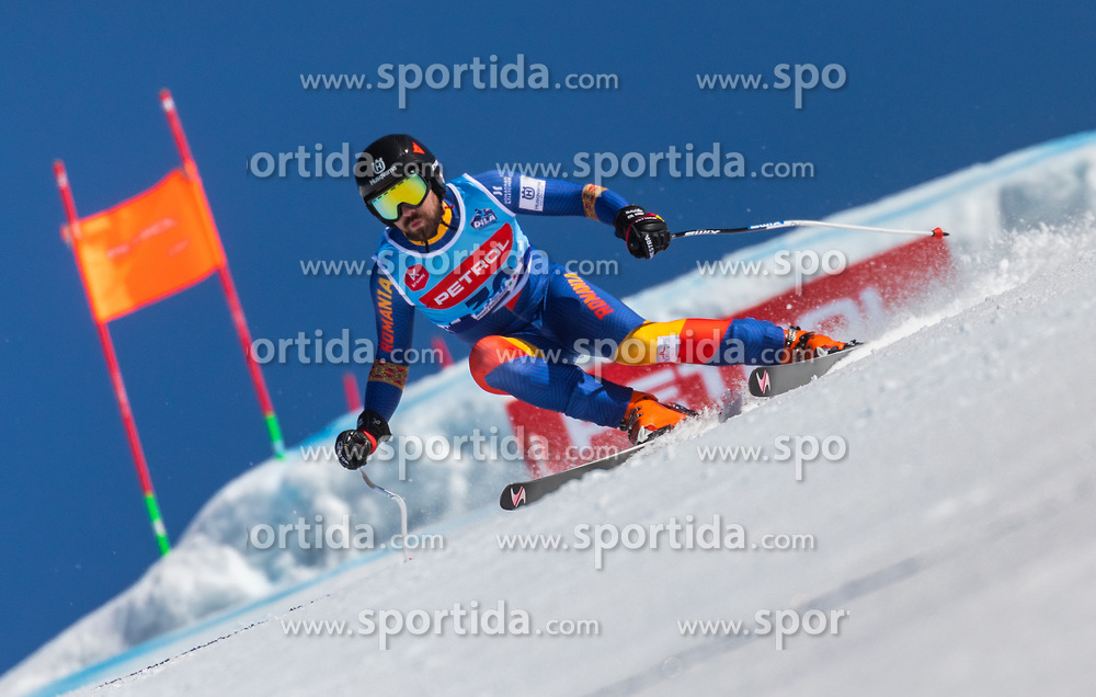 Achiriloaie Ioan Valeriu from Romania during the downhill of Open National Championship of Slovenia 2019, on March 30, 2019, on Krvavec, Slovenia. Photo by Urban Meglic / Sportida