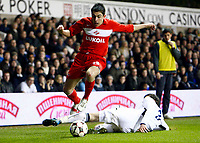 Arthur Maloyan of FC Spartak Moscow Tottenham Hotspur Vs Spartak Moscow at White Hart Lane London UEFA Cup Group D. 18/12/2008. <br /> Credit Colorsport / Kieran Galvin