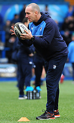 Training ground coach Mike Bieri of Cardiff Blues - Mandatory by-line: Nizaam Jones/JMP- 24/03/2018 - RUGBY - BT Sport Cardiff Arms Park- Cardiff, Wales - Cardiff Blues v Ulster Rugby - Guinness Pro 14