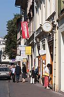 high Street in Krakow Poland