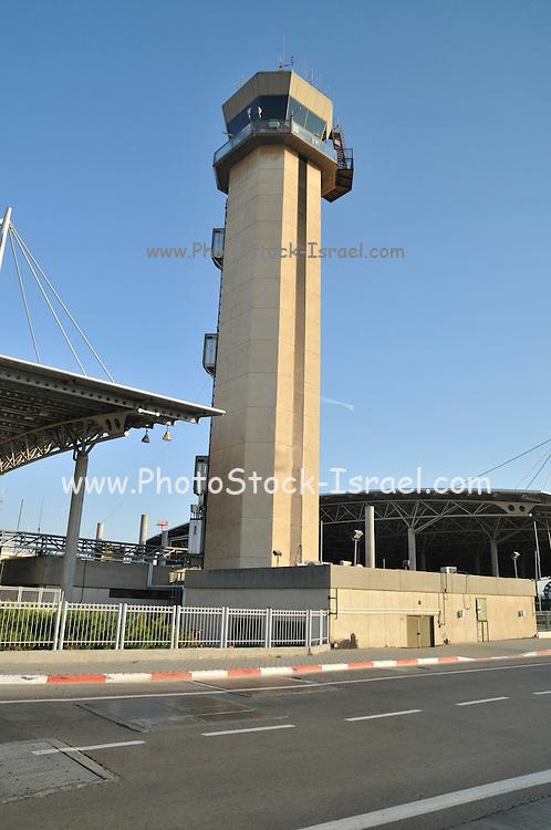 Israel, Ben-Gurion international Airport Air Control Tower