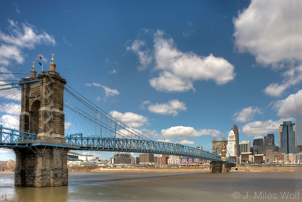 Roebling Bridge in Cincinnati