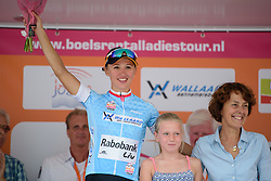 Kasia Niewiadoma (Rabo Liv) is still the top young rider at the 111 km Stage 4 of the Boels Ladies Tour 2016 on 2nd September 2016 in 's-Hertogenbosch, Netherlands. (Photo by Sean Robinson/Velofocus).