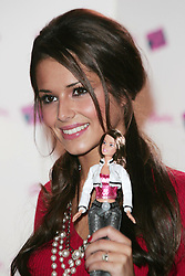 Oct 25, 2005; London, UK; CHERYL TWEEDY from pop group 'Girls Aloud' launched their own Barbie Doll clothing collection at 5 Cavendish Square in London. The British girl band designed the five limited edition dolls, each with her own individual ooutfit and accessories..  (Credit Image: Axel/ZUMAPRESS.com)