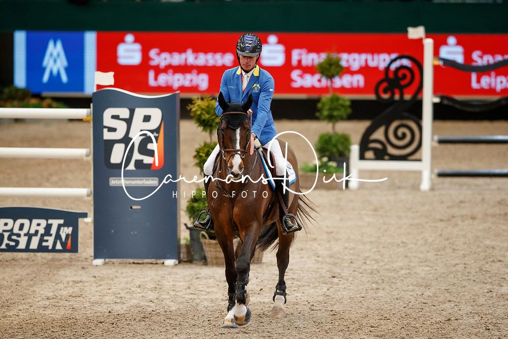 AHLMANN Christian (GER), Taloubet Z<br /> Leipzig - Partner Pferd 2018   <br /> Longines FEI World Cup Jumping - Grosser Preis von Leipzig<br /> © www.sportfotos-lafrentz.de/Stefan LafrentzAhlmann Christian, GER, Taloubet Z<br /> Leipzig - Partner Pferd 2018   <br /> Longines FEI World Cup Jumping - Grosser Preis von Leipzig<br /> © Hippo Foto - Stefan Lafrentz<br /> 21/01/2018