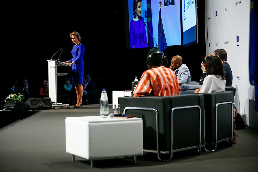 04 June 2015 - Belgium - Brussels - European Development Days - EDD - Education - Right to quality education - HM Mathilde , Queen of the Belgians © European Union