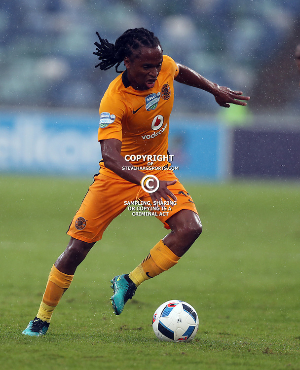 Siphiwe Tshabalala of Kaizer Chiefs during the Telkom Knockout quarterfinal  match between Kaizer Chiefs and Free State Stars at the Moses Mabhida Stadium , Durban, South Africa.6 November 2016 - (Photo by Steve Haag Kaizer Chiefs)