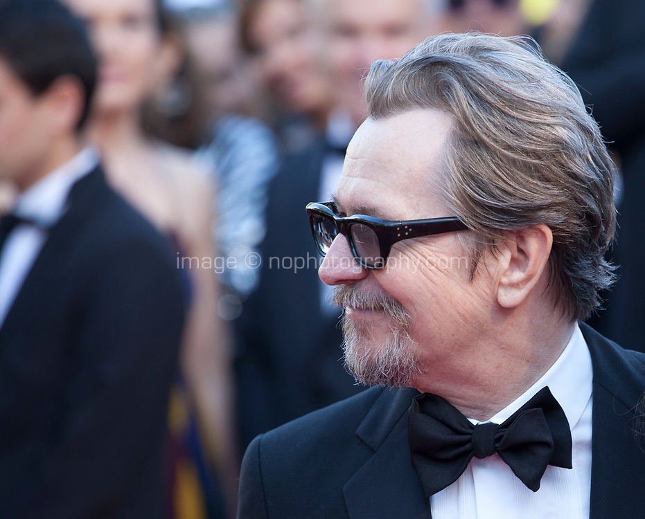 Actor Gary Oldman at the Capharnaüm (Cafarnaúm)  gala screening at the 71st Cannes Film Festival, Thursday 17th May 2018, Cannes, France. Photo credit: Doreen Kennedy