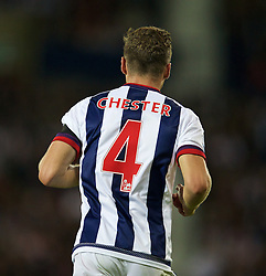 WEST BROMWICH, ENGLAND - Monday, August 10, 2015: West Bromwich Albion's James Chester during the Premier League match against Manchester City at the Hawthorns. (Pic by David Rawcliffe/Propaganda)