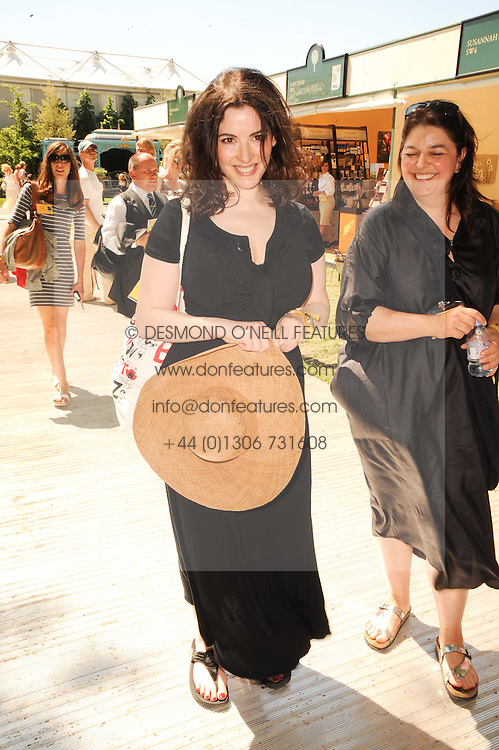Th 2010 Royal Horticultural Society Chelsea Flower show in the grounds of Royal Hospital Chelsea, London on 24th May 2010.<br /> <br /> Picture shows:-NIGELLA LAWSON
