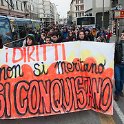 PADOVA, ITALY - NOVEMBER 30:  Italian students take part in the demonstration against the Gelmini Reform on November 30, 2010 in Padova, Italy. The Italian parliament will vote to pass the reforms today, as thousands of students hold demonstrations across Italy in protest at the reforms, which will see budget cuts and a major overhaul of Italy's university system..***Agreed Fee's Apply To All Image Use***.Marco Secchi /Xianpix. tel +44 (0) 207 1939846. e-mail ms@msecchi.com .www.marcosecchi.com