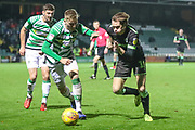 Forest Green Rovers Theo Archibald(18) runs forward during the EFL Sky Bet League 2 match between Yeovil Town and Forest Green Rovers at Huish Park, Yeovil, England on 8 December 2018.